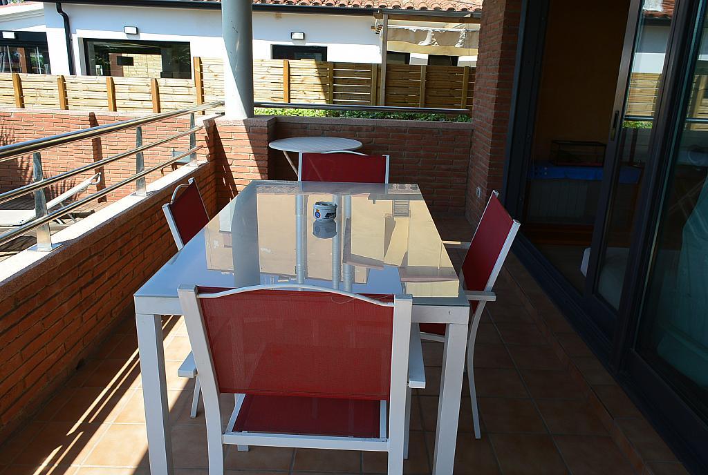 Terraza - Casa en alquiler en Playa en Castelldefels - 283183002