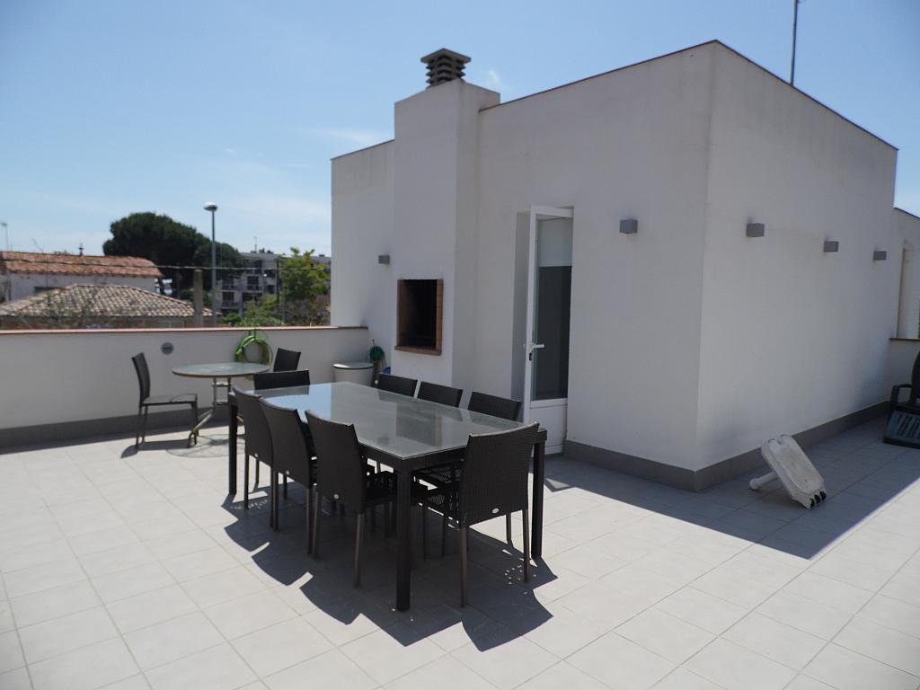 Terraza - Casa en alquiler en Playa en Castelldefels - 285674984