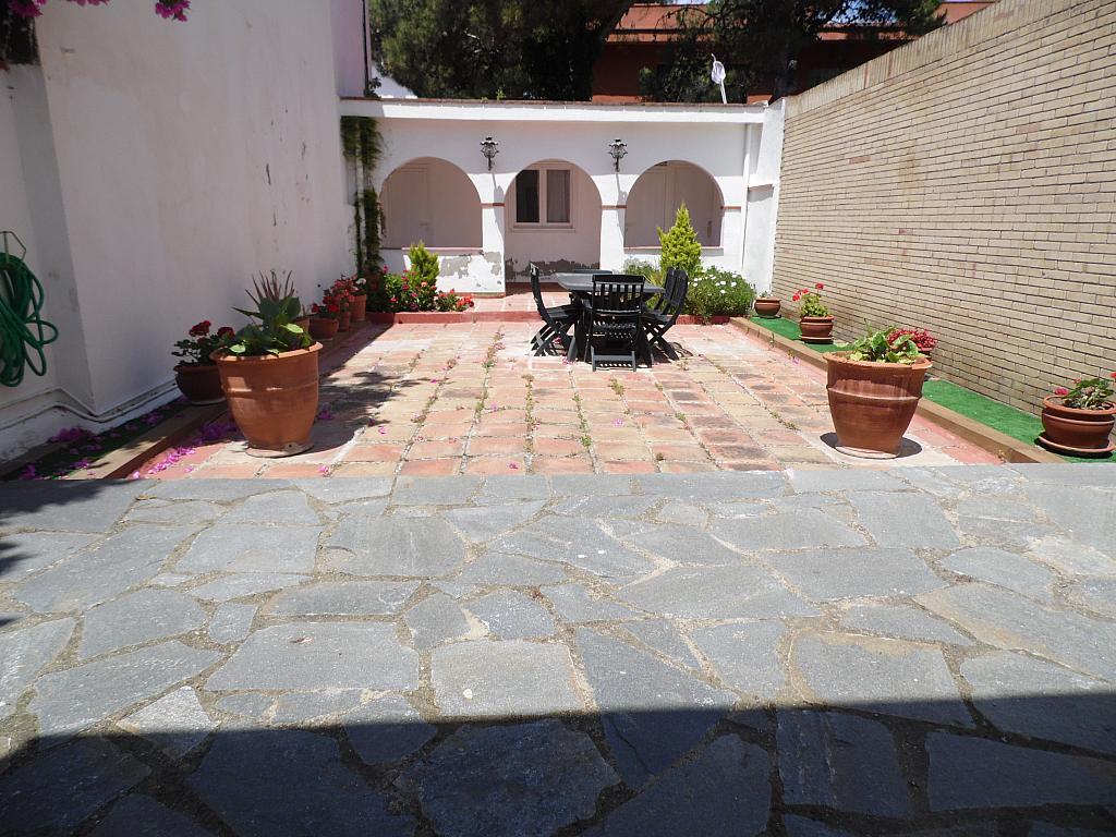 Terraza - Casa en alquiler en Playa en Castelldefels - 285675459
