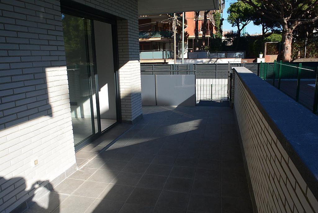 Terraza - Piso en alquiler en Playa en Castelldefels - 227890900
