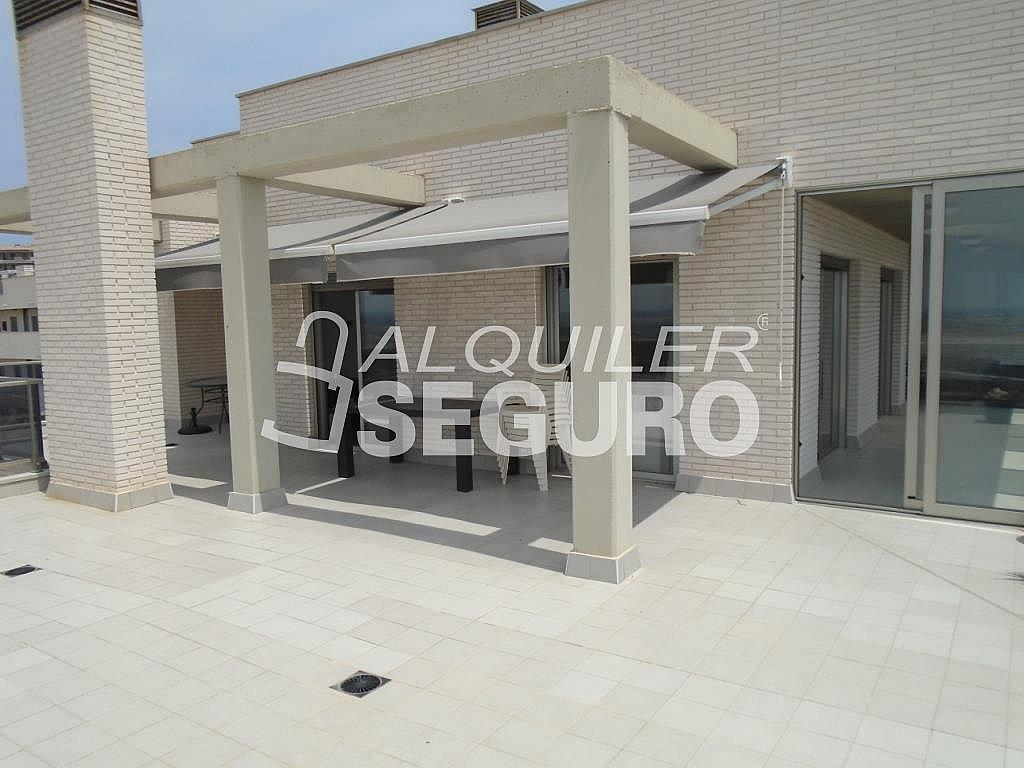 Ático en alquiler en calle Albacete, Elche/Elx - 281347636