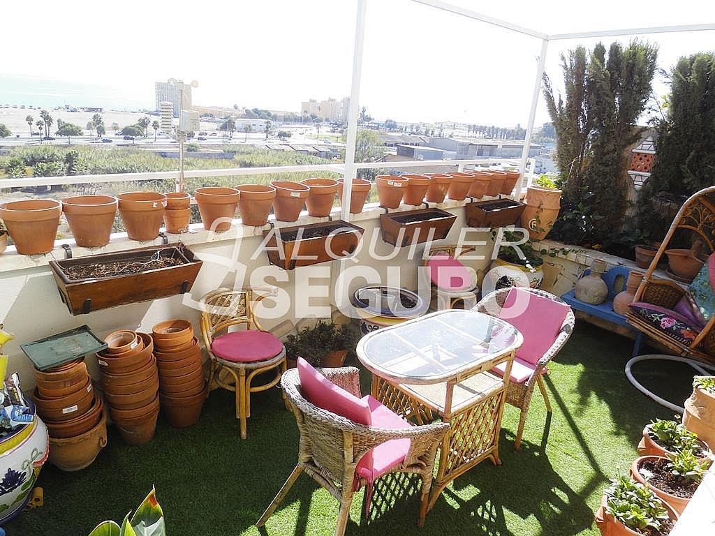 Ático en alquiler en calle Bulevar Pilar Miro, Carretera de Cádiz en Málaga - 348752039