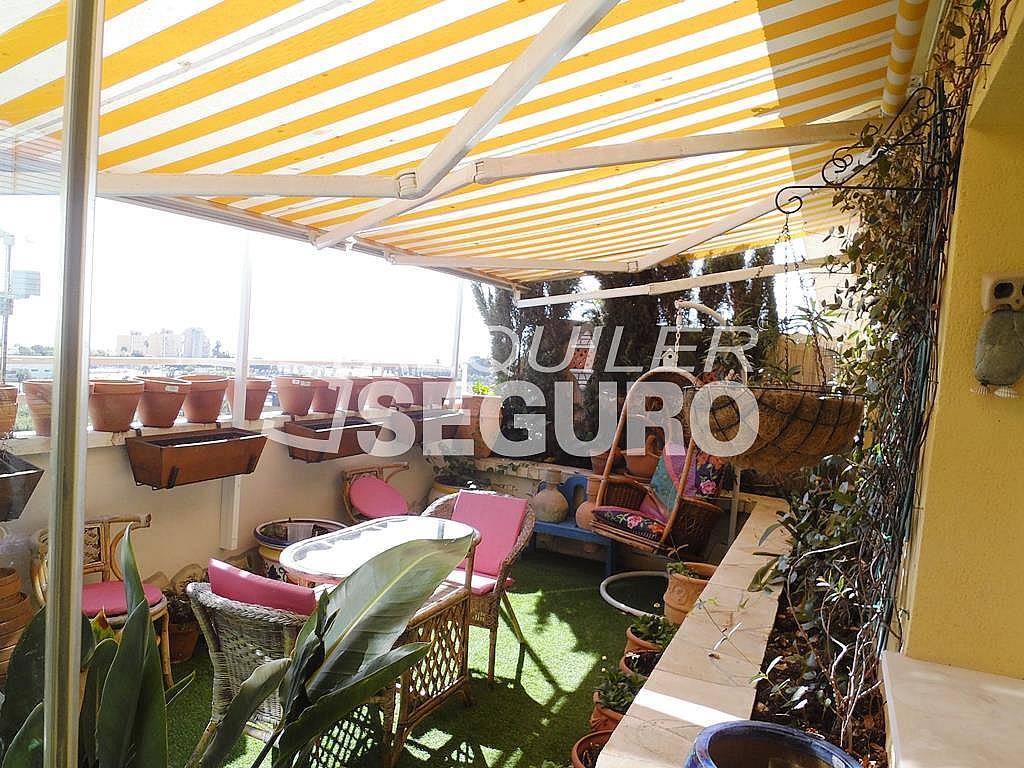 Ático en alquiler en calle Bulevar Pilar Miro, Carretera de Cádiz en Málaga - 348752075