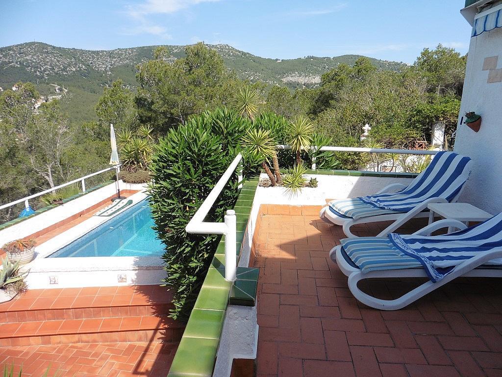 Terraza - Apartamento en venta en Muntanya del mar en Canyelles - 285615854