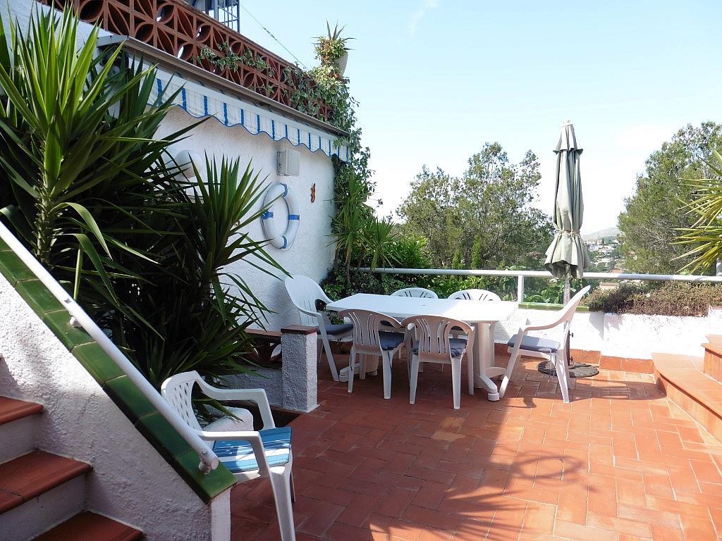 Terraza - Apartamento en venta en Muntanya del mar en Canyelles - 285615919