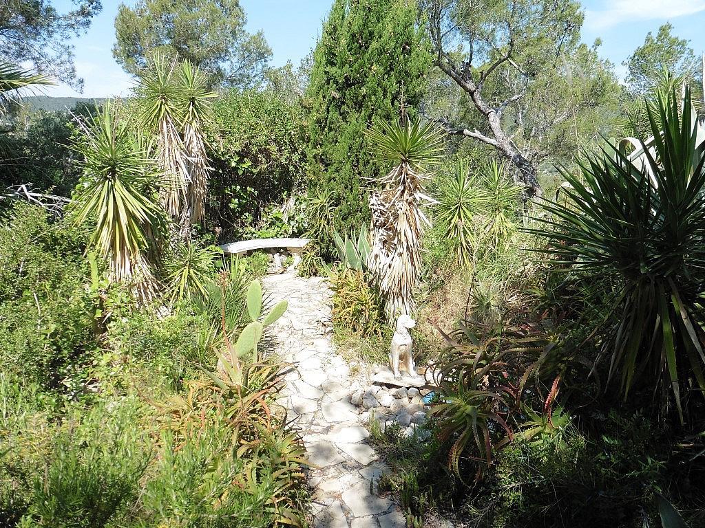 Jardín - Apartamento en venta en Muntanya del mar en Canyelles - 285616279