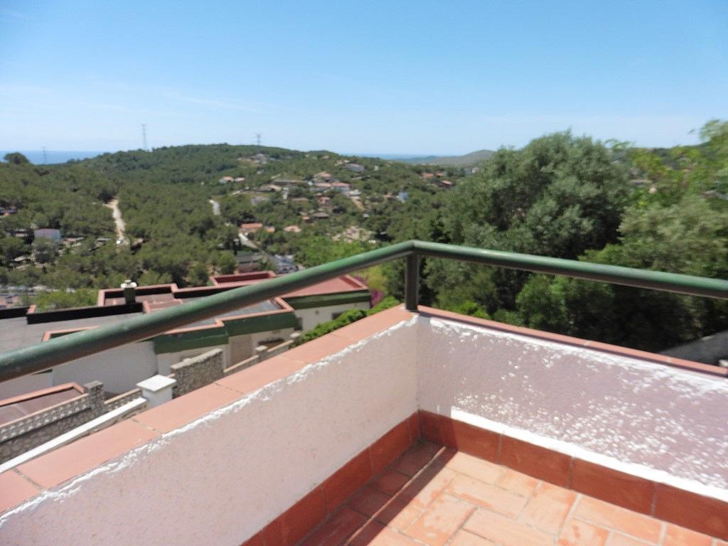 Terraza - Apartamento en venta en Muntanya del mar en Canyelles - 299717923