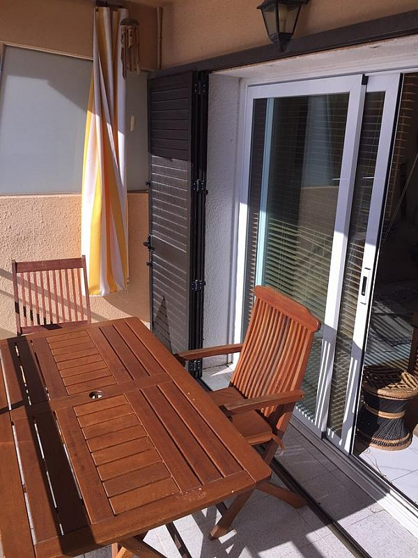 Terraza - Apartamento en venta en Escala, L´ - 221444276