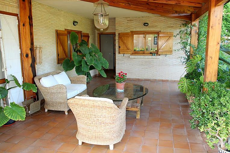 Terraza - Chalet en alquiler en calle , Puçol - 133621308