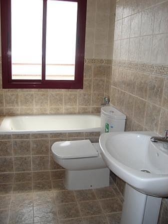 Baño - Piso en alquiler en calle , Canet d´En Berenguer - 140275132