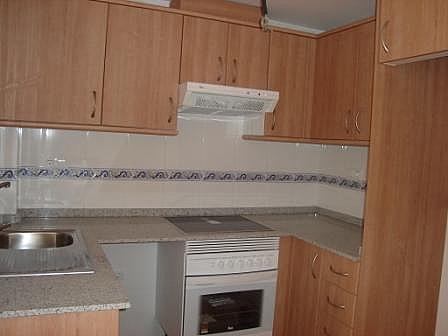 Cocina - Piso en alquiler en calle , Canet d´En Berenguer - 140275134