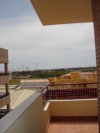Terraza - Piso en alquiler en calle , Canet d´En Berenguer - 140275141