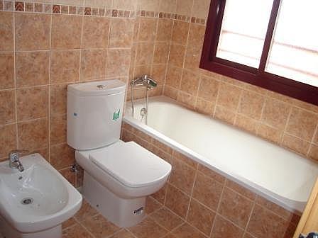 Baño - Piso en alquiler en calle , Canet d´En Berenguer - 140275148