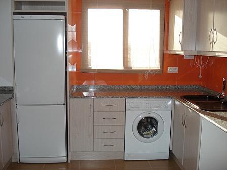 Cocina - Piso en alquiler en calle , Canet d´En Berenguer - 143555710