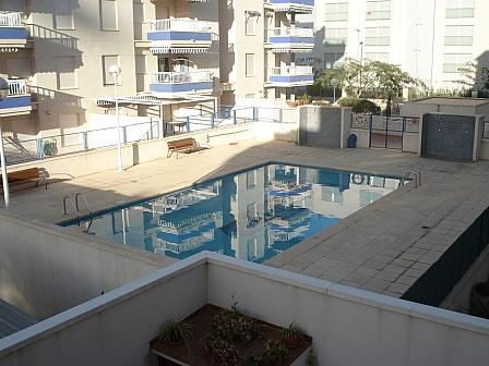 Terraza - Piso en alquiler en calle , Canet d´En Berenguer - 143555887