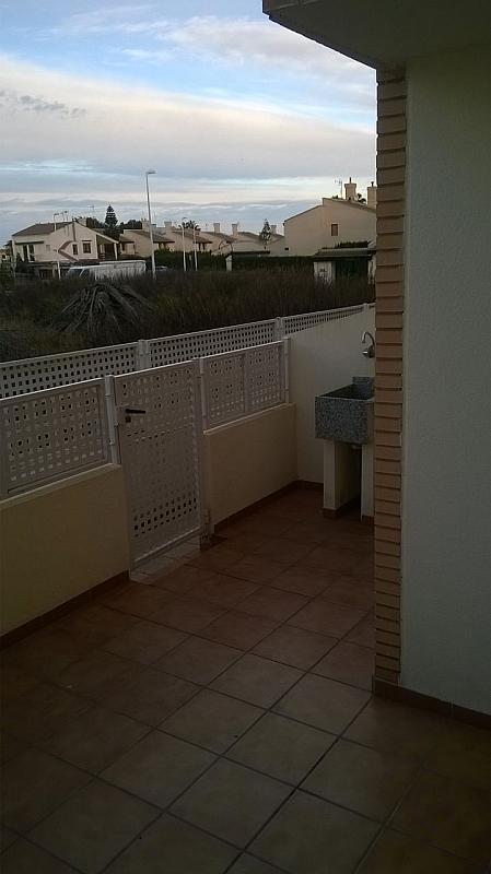 Terraza - Casa adosada en alquiler en calle , Almarda, de (py) - 171583407