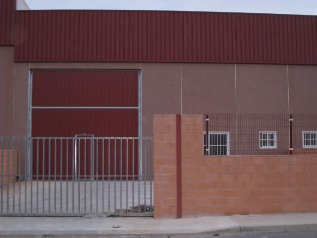 Fachada - Nave industrial en alquiler en Agost - 30732096