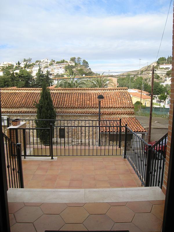 Terraza - Chalet en alquiler en Coveta Fuma en Campello (el) - 161026307