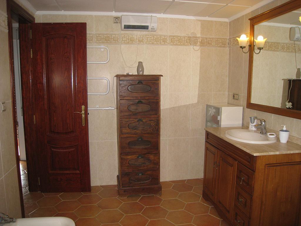Baño - Chalet en alquiler en Coveta Fuma en Campello (el) - 161026375