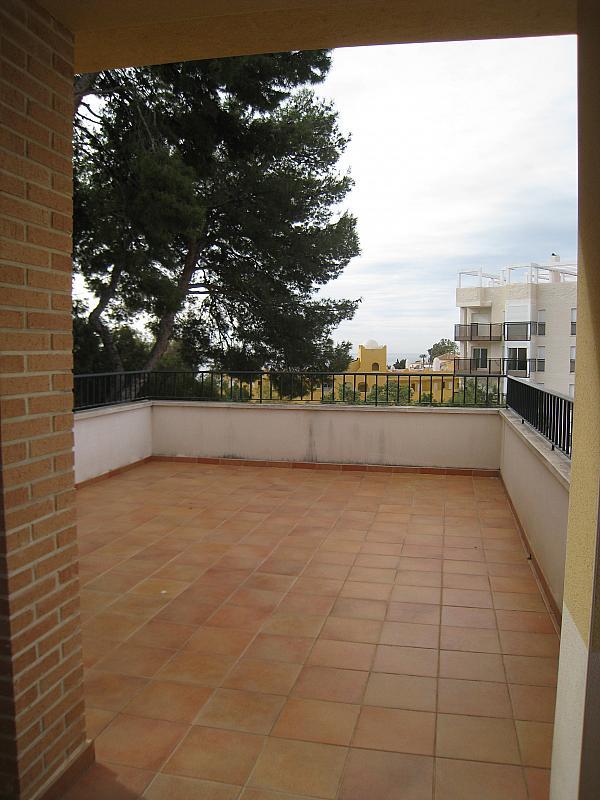 Terraza - Chalet en alquiler en Coveta Fuma en Campello (el) - 161026417