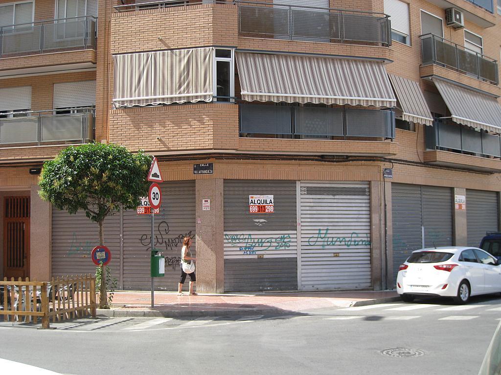 Fachada - Local comercial en alquiler en San Vicente del Raspeig/Sant Vicent del Raspeig - 201934778
