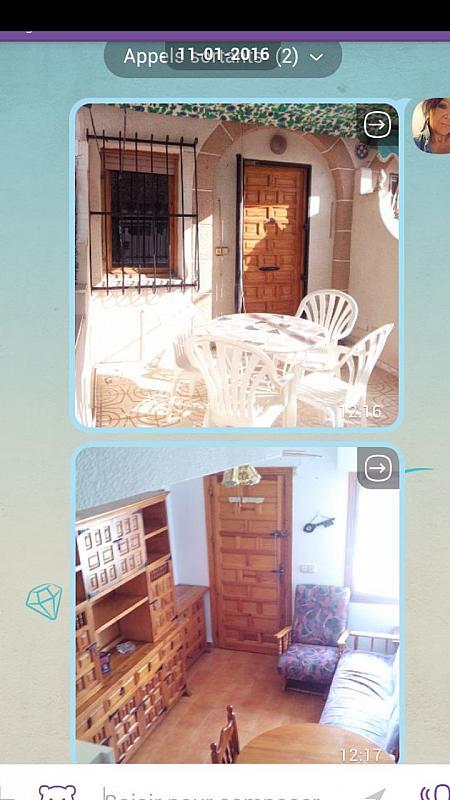 Salón - Apartamento en alquiler de temporada en Santa Pola - 243417186