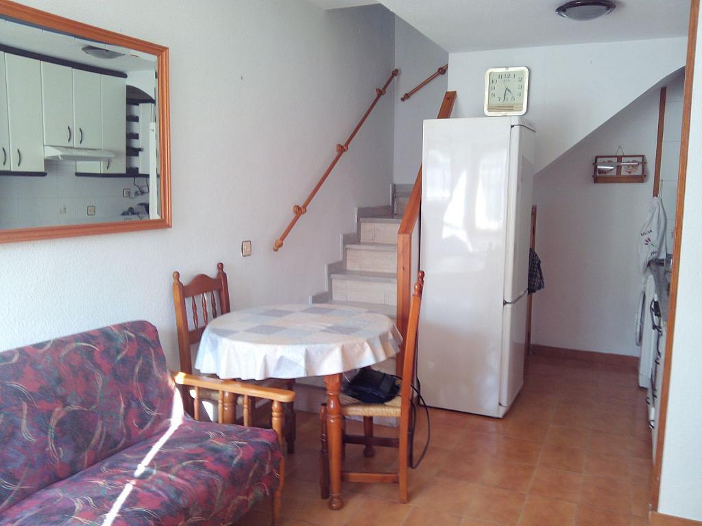 Salón - Apartamento en alquiler de temporada en Santa Pola - 261508051