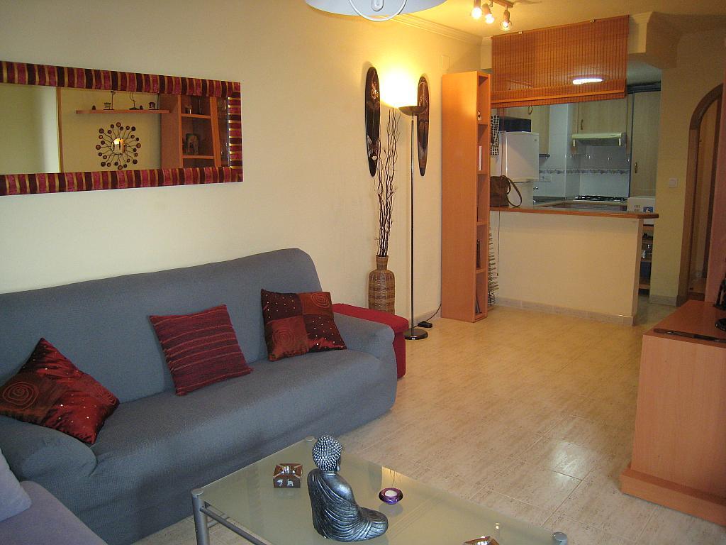 Salón - Apartamento en venta en Urbanova en Alicante/Alacant - 243423646