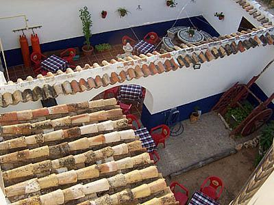 Patio - Hotel en alquiler en Arenales de San Gregorio - 189409511