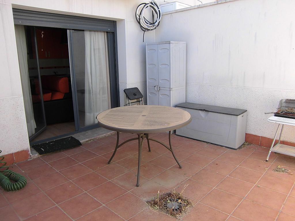 Patio trasero - Apartamento en alquiler opción compra en Miguelturra - 205058120