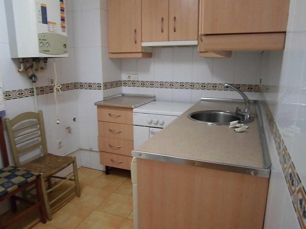 Cocina - Apartamento en alquiler en Ciudad Real - 222416689