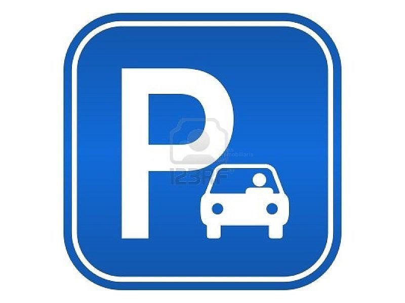 15198325-car-parking-sign-vector-illustration - Garaje en alquiler en calle La Parellada, Vilafranca del Penedès - 179263258