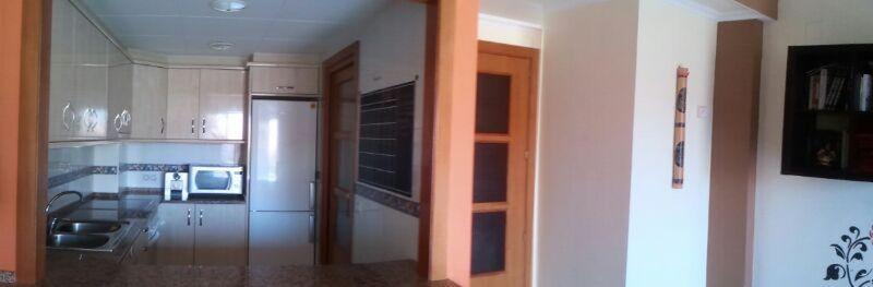 Pasillo - Piso en alquiler en calle Sant Ramon, Barrio Sant Lluís en Palafolls - 118818868