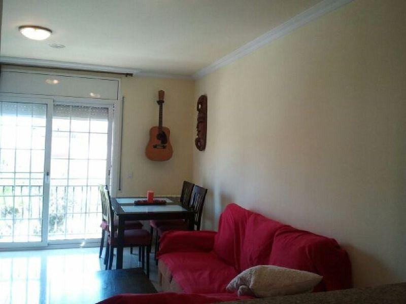 Comedor - Piso en alquiler en calle Sant Ramon, Barrio Sant Lluís en Palafolls - 118818882