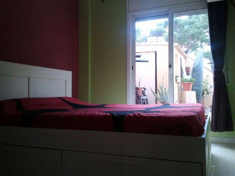 Dormitorio - Piso en alquiler en calle Sant Ramon, Barrio Sant Lluís en Palafolls - 118818892