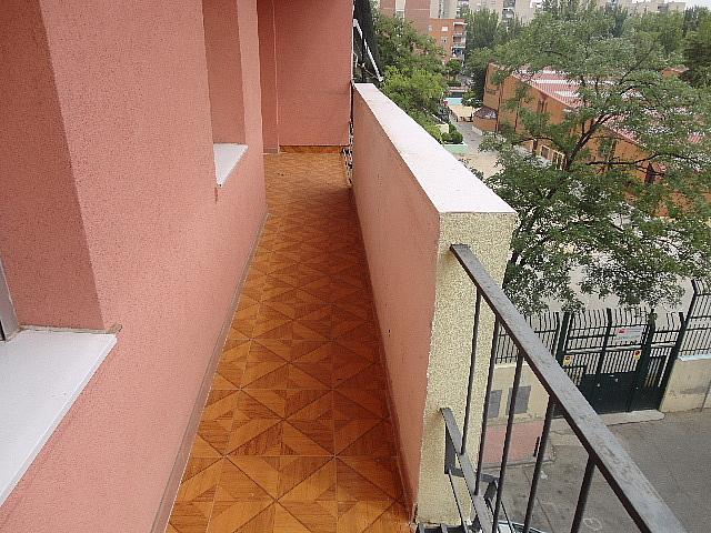 Terraza - Piso en alquiler en calle Fernán González, Reyes Católicos en Alcalá de Henares - 209945892