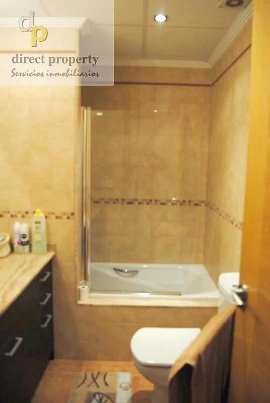Baño - Piso en alquiler en calle Río Júcar, Torrellano - 273474879