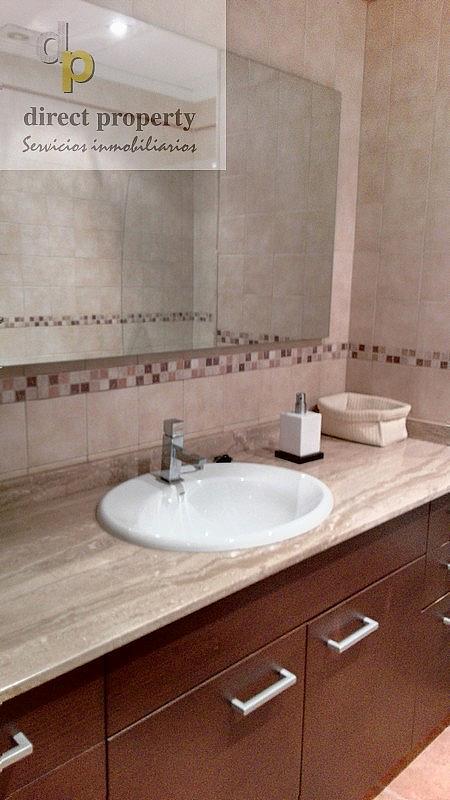 Baño - Piso en alquiler en calle Río Júcar, Torrellano - 274702945