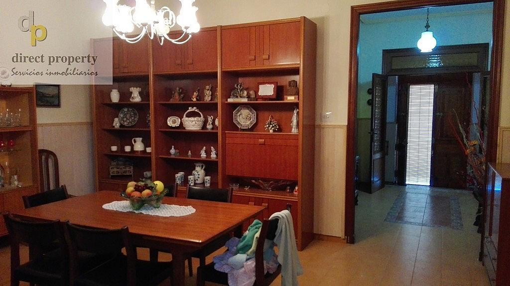 Salón - Casa en alquiler en calle Rio Segura, Torrellano - 320295781