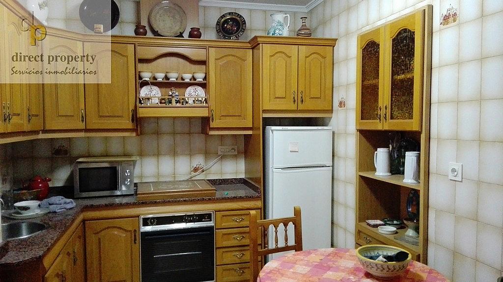 Cocina - Casa en alquiler en calle Rio Segura, Torrellano - 320295785