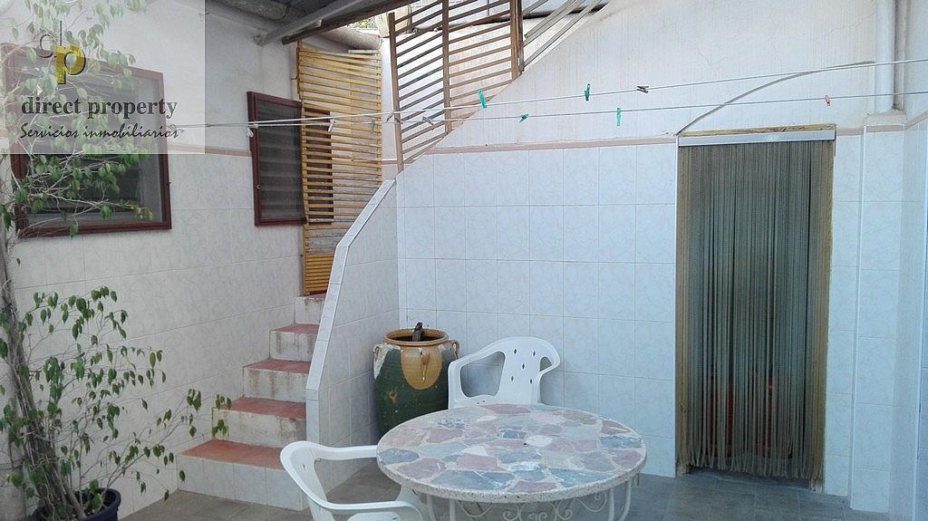 Patio - Casa en alquiler en calle Rio Segura, Torrellano - 320295793
