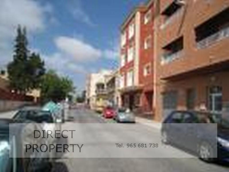 Fachada - Local en alquiler en calle San Fernando, Torrellano - 53818049