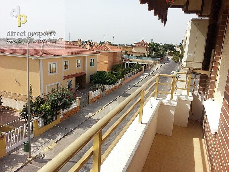 Balcón - Piso en alquiler en calle Escuelas, Torrellano - 216000534