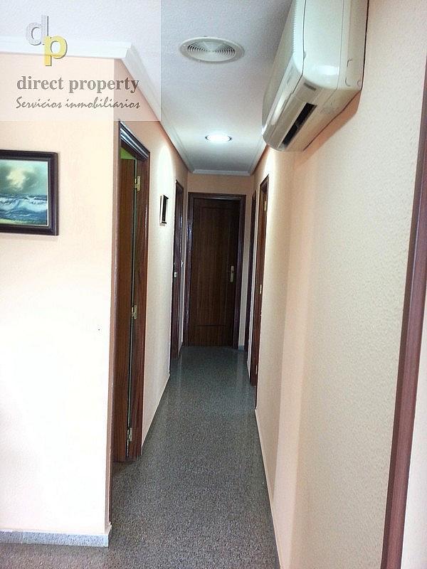 Pasillo - Piso en alquiler en calle Escuelas, Torrellano - 216000543