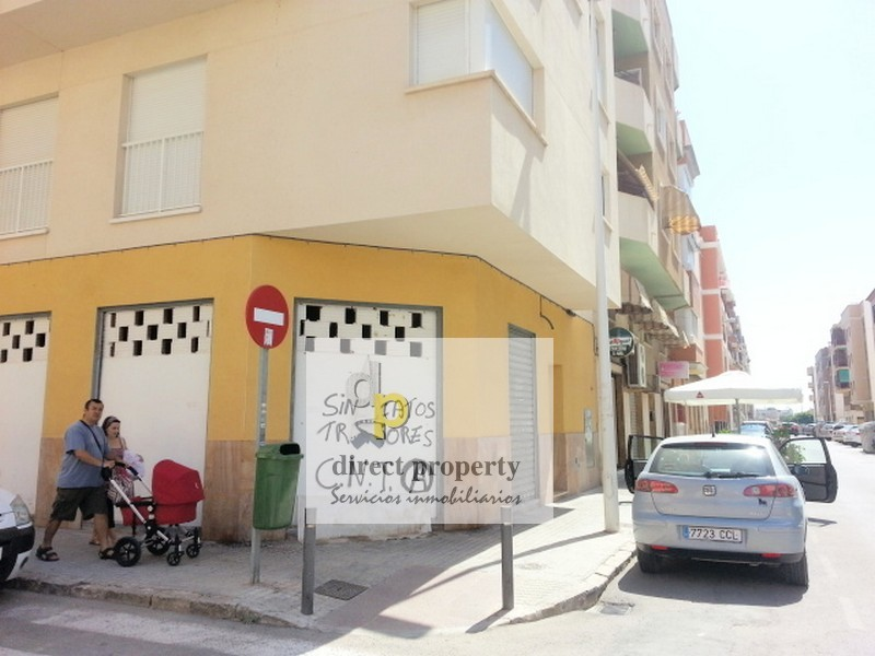 Fachada - Local en alquiler en calle Bergantin, Altet, el - 117839652
