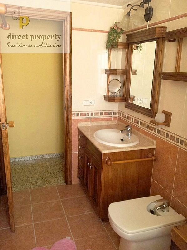 Baño - Piso en alquiler en calle San Bartolome de Tirajana, Arenales del Sol, Los - 218901599