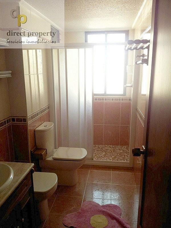 Baño - Piso en alquiler en calle San Bartolome de Tirajana, Arenales del Sol, Los - 218901600