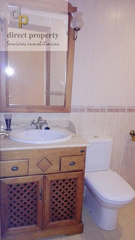 Baño - Piso en alquiler en calle Rosa de Los Vientos, Torrellano - 221218006