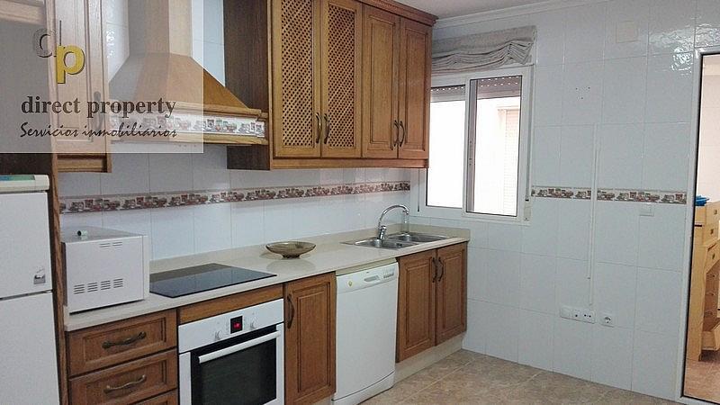 Cocina - Piso en alquiler en calle Rosa de Los Vientos, Torrellano - 221218013