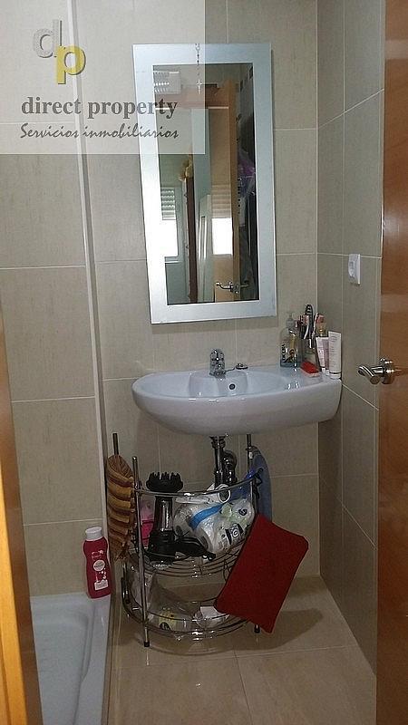 Baño - Piso en alquiler en calle Alcudia, Torrellano - 222377376
